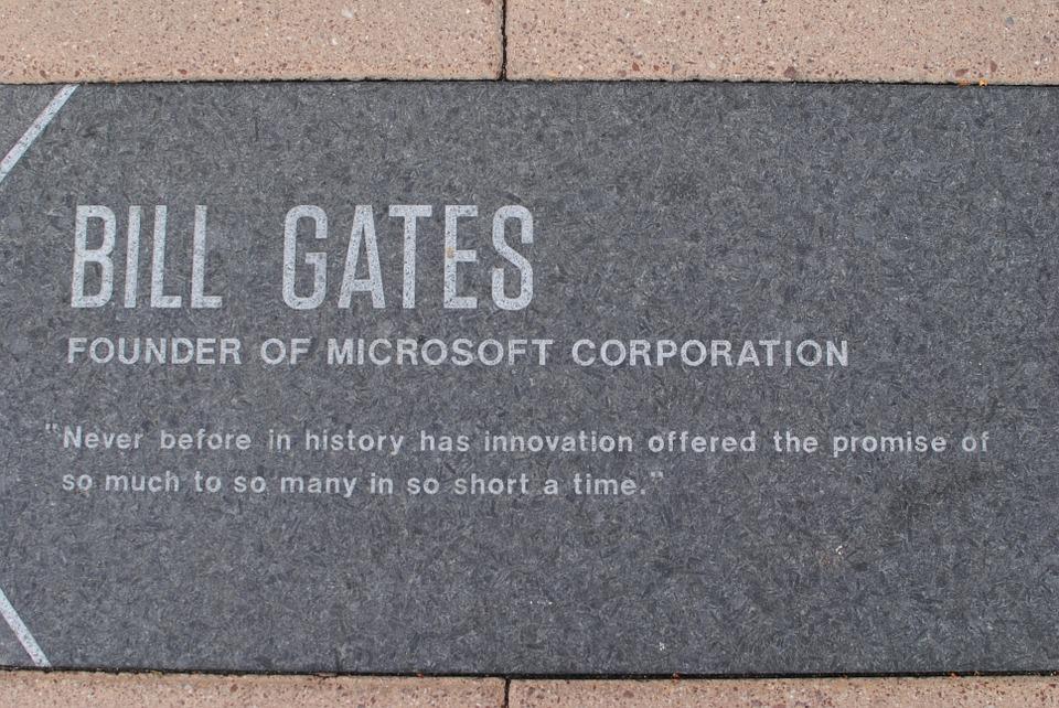 Digitalisierung der Branchen - hier: Bill Gates