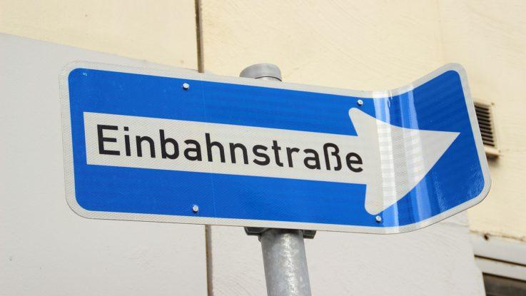 Einbahnstrasse an der Börse?