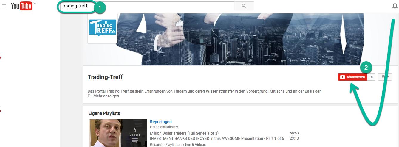 Trading-Treff youtube