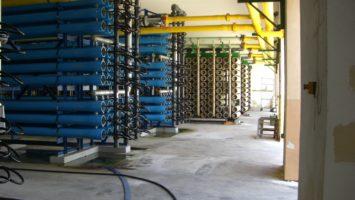 Überlegungen zu Engagements im Wassersektor, die Wasseraufbereitung