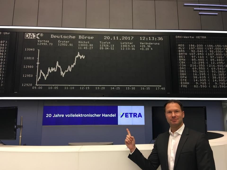 XETRA-Handelssystem Besuch