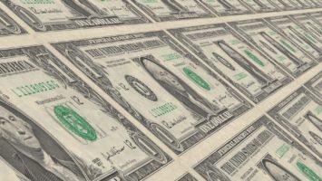 Kaufkraft eines US Dollars im Lauf der Zeit