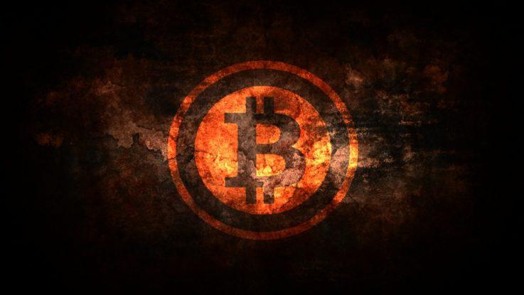 Bitcoin brennt - Bitcoin bricht zusammen