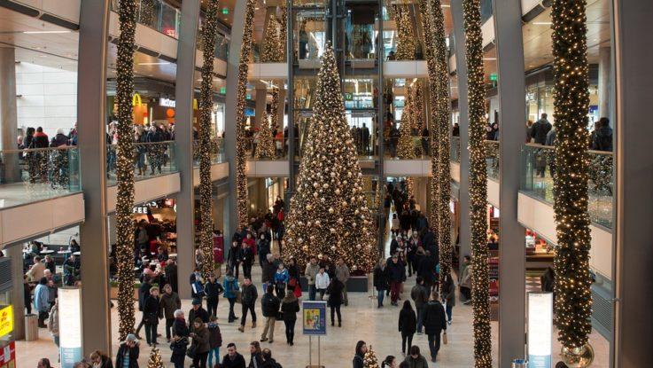 Shopping im Advent