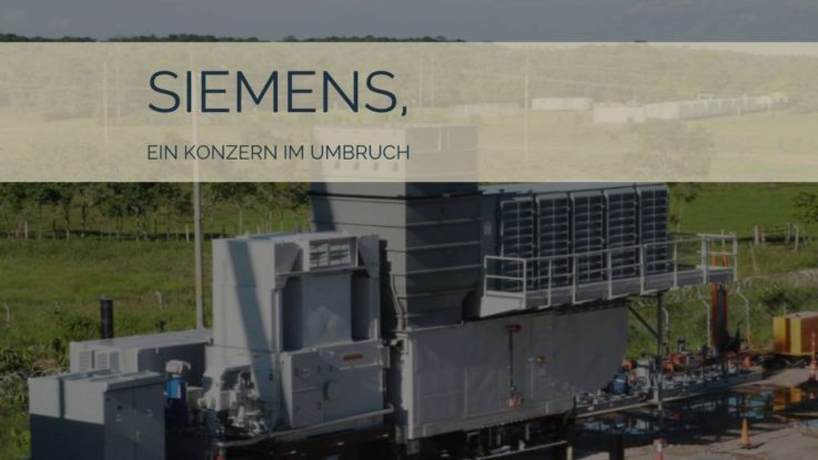 Siemens befindet sich im Umbruch