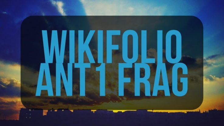 wikifolio ANT1 FRAG