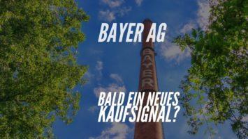 Bayer AG Aktie bald mit einem Kaufsignal