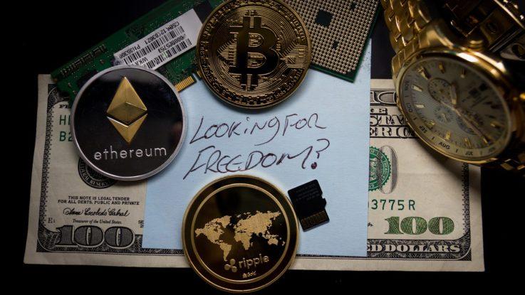 Gold besicherte Kryptowährung