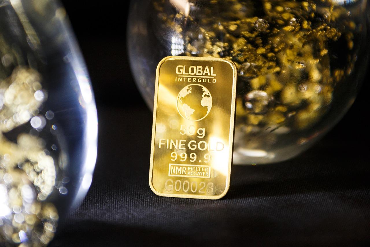 Goldbarren 999.9 50 Gramm
