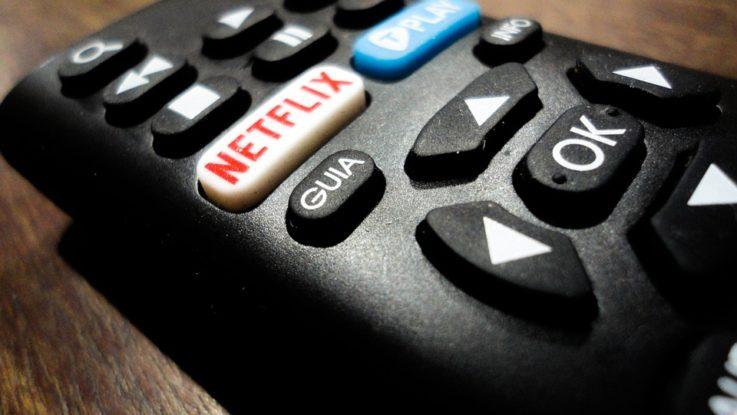 Netflix Taste auf der Fernbedienung