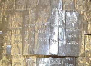 5 Kilobarren Silber