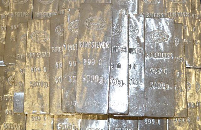 5 Kilo Barren Silber
