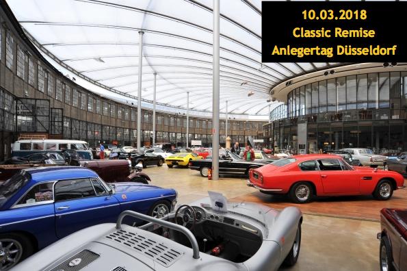 Anlegertag Düsseldorf 2018 in der Classic Remise