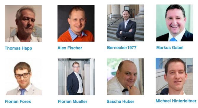 Börsentag München 2018 Autoren Trading-Treff