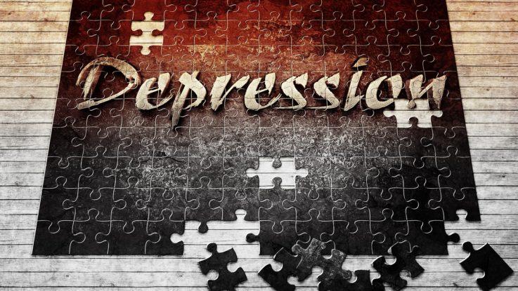 Depression in der Wirtschaft