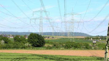 Stromnetz der Energiebranche