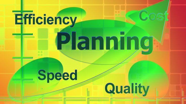 Effizienz, Geschwindigkeit und Planung