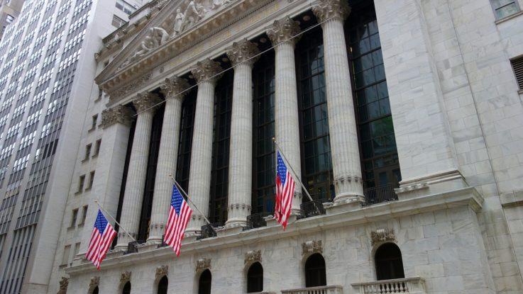 Aktienhandel an der Wall Street