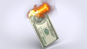 Der US-Dollar entwertet sich