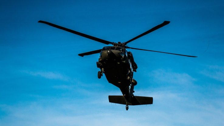 Fliegender Helikopter