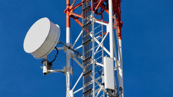 Mobilfunkmast der Telekom