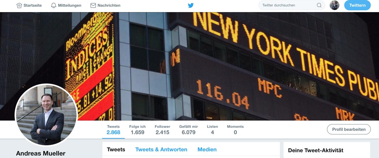 Twitter Profil Bernecker1977