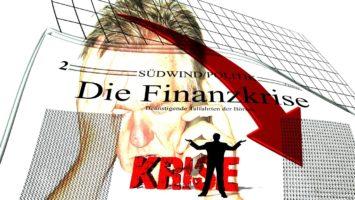 Zeitung titelt Finanzkrise