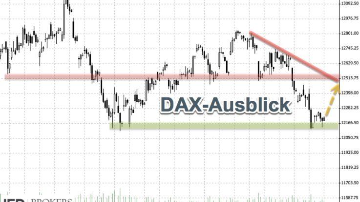 DAX weiter unter Druck | Wall Street kann sich stabilisieren | Ausblick KW34