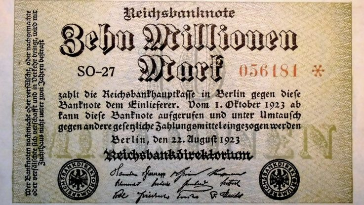 Geld in Hyperinflation