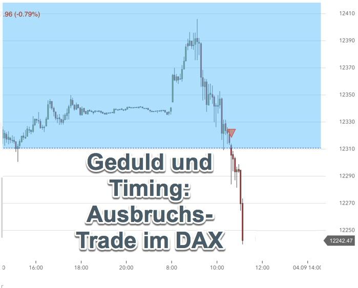 Live-Trade im DAX: nextmarkets