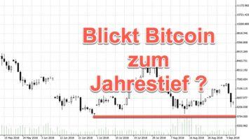 Rote Woche bei Bitcoin | Kurs bricht doppelt ein | Hintergründe und Trading-Ideen