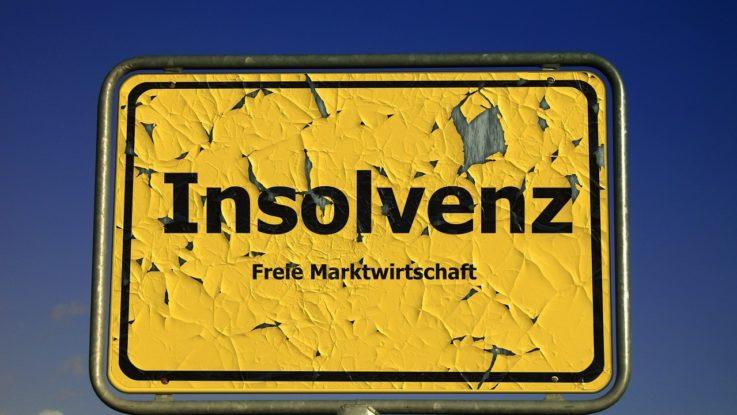 Unternehmensinsolvenzen in Deutschland rückläufig