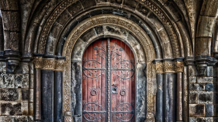 Tür zur Börse öffnet sich