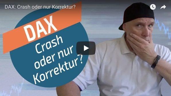 DAX vor Entscheidung: Korrektur oder Crash?