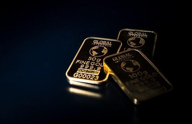 Goldbarren als Spekulation