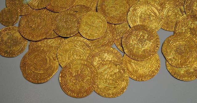 Goldmünzen waren lange Zeit wertstabil