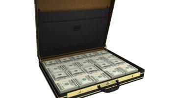 Jackpot - Koffer voll Geld