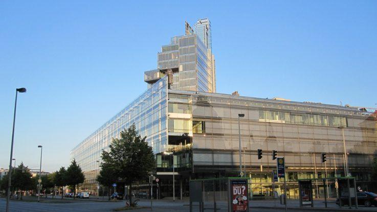 Gebäude der NordLB