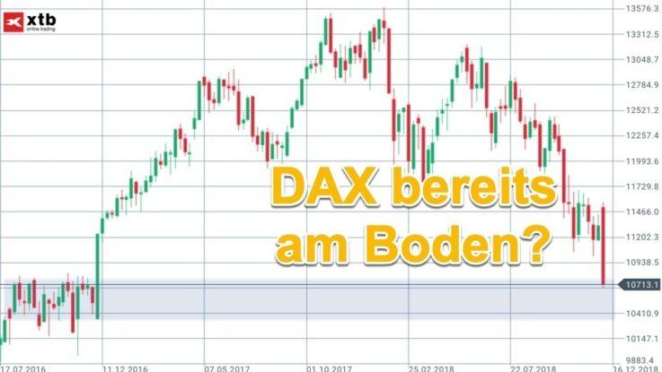 Chartanalyse DAX für die KW50 und Ihr Trading