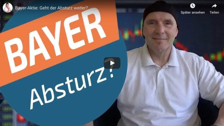 Videoanalyse zum Absturz der Bayer-Aktie