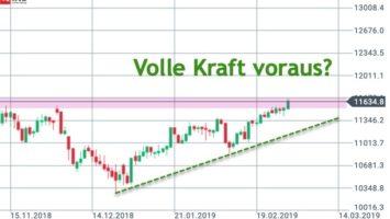 DAX-Wochenausblick KW10/2019