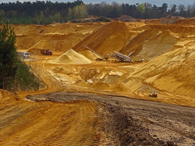 Umweltschäden durch Sandabbau