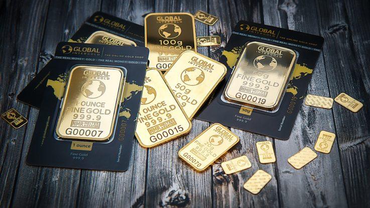 Nur Gold ist Geld