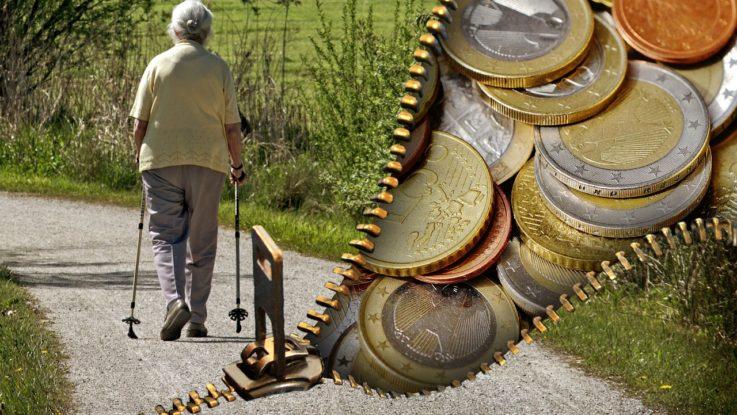 Pensionskassen mit Problemen