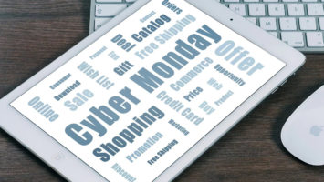 Shopping am Cyber Monday