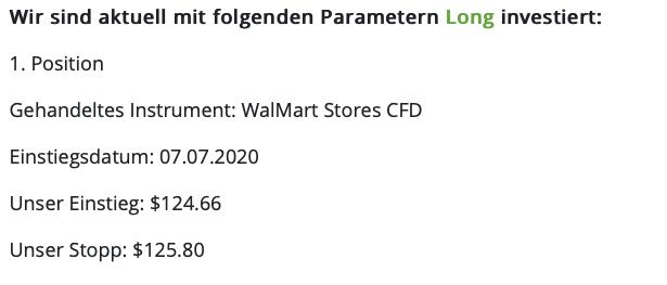 Parameter Walmart