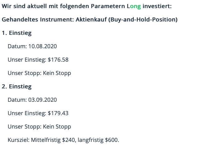 Parameter Boeing