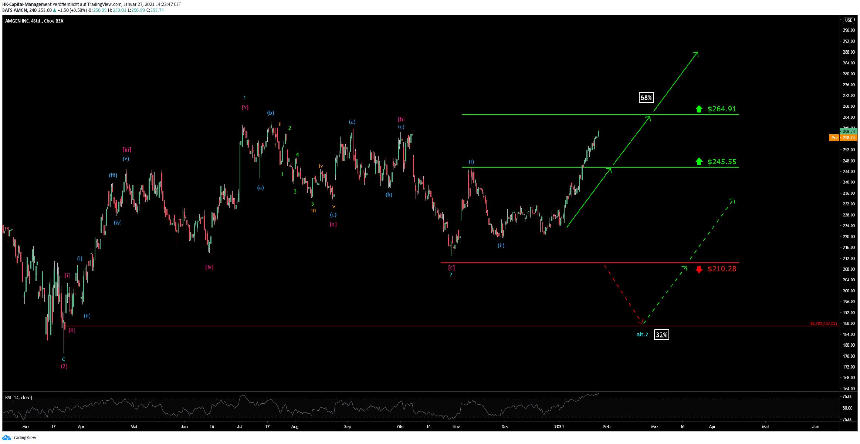 Amgen Chart 27.01.2021