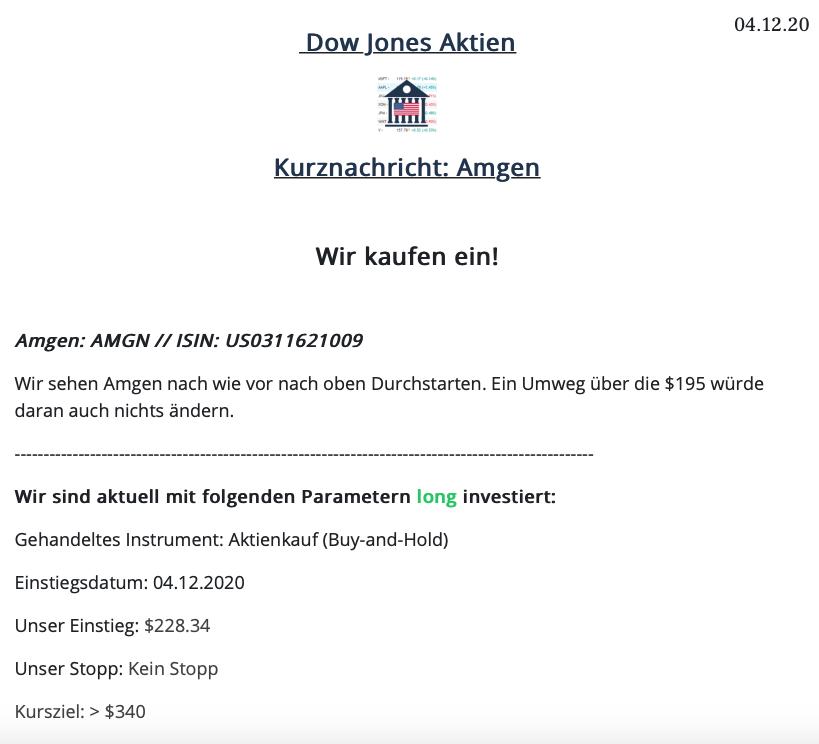 Dow Jones Aktien