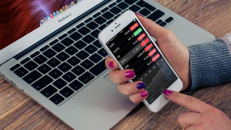 Aktienhandel über das Handy